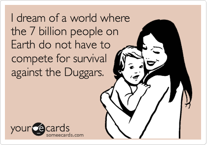 I dream of a world where