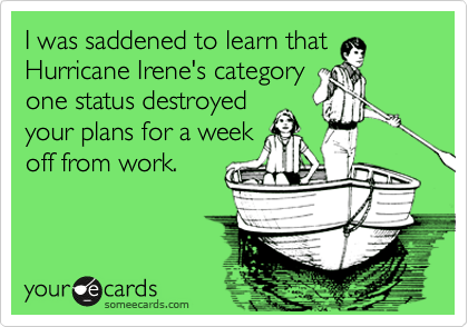 I was saddened to learn that