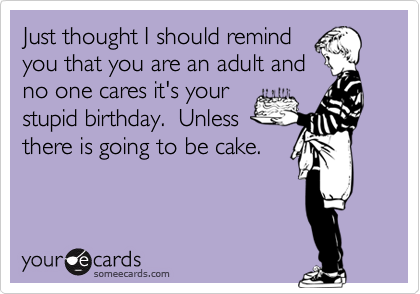 Just thought I should remind