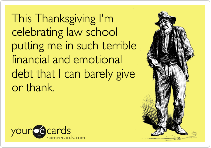 This Thanksgiving I'm