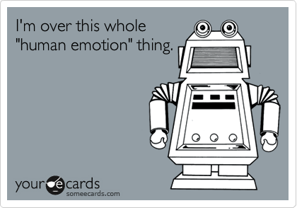 I'm over this whole