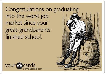 Congratulations on graduating