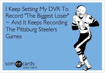 I Keep Setting My DVR To