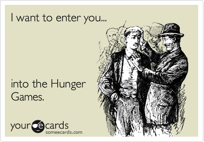 I want to enter you...