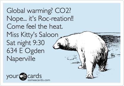 Global warming? CO2? 