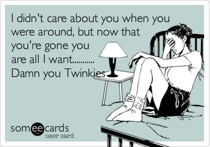 I didn't care about you when you