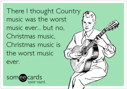 There I Thought Country Music Was The Worst Music Ever... But No ...