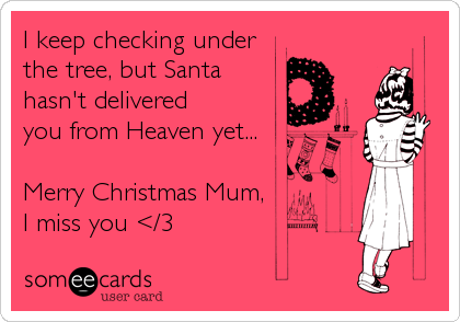 I keep checking under