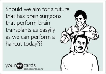 Should we aim for a future