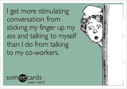 I get more stimulating