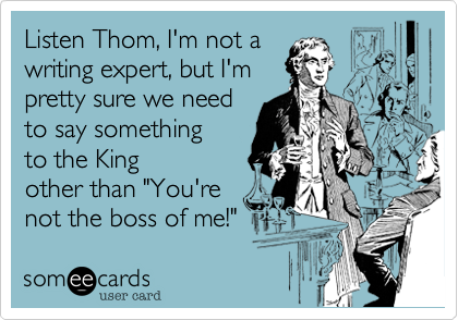 Listen Thom, I'm not a