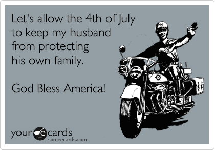 Let's allow the 4th of July