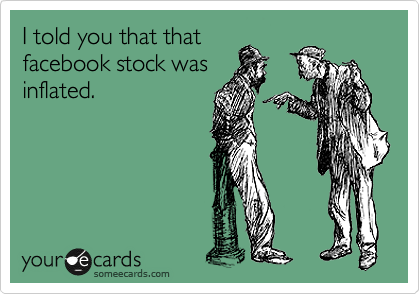 I told you that that