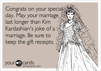 Congrats on your special