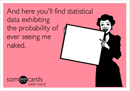 And here you'll find statistical
