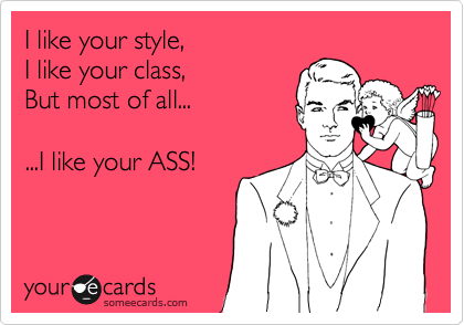 I like your style,