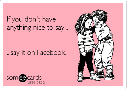 If you don't have