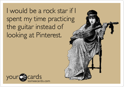 I would be a rock star if I
