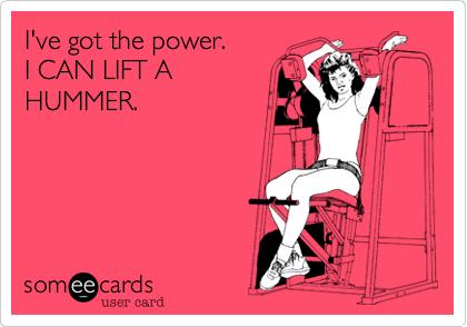 I've got the power.  