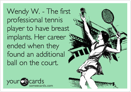 Wendy W. - The first