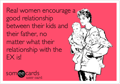 Real women encourage a