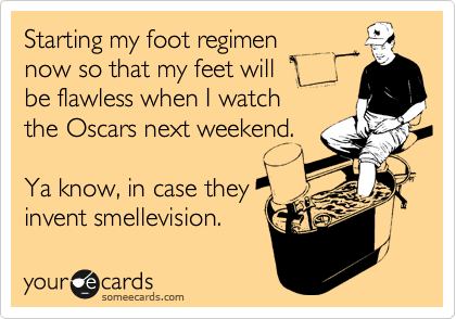 Starting my foot regimen