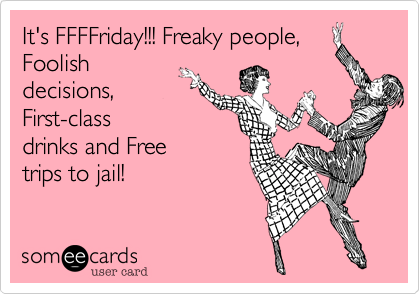 It's FFFFriday!!! Freaky people,