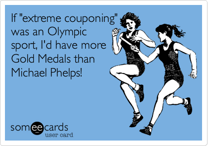 "If ""extreme couponing""