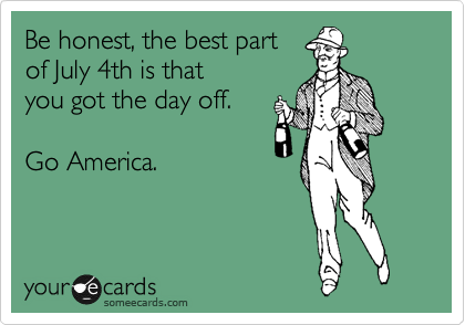 Be honest, the best part