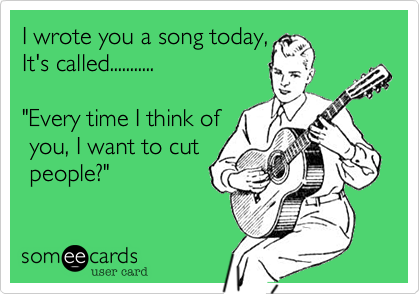 I wrote you a song today%2C