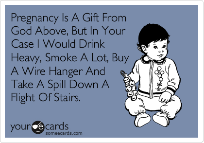 Pregnancy Is A Gift From