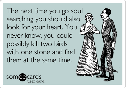 The next time you go soul