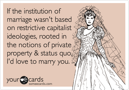 If the institution of