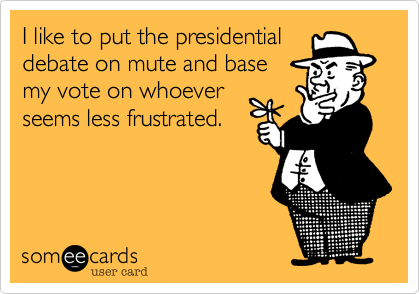 I like to put the presidential