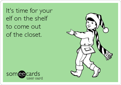 It's time for your 