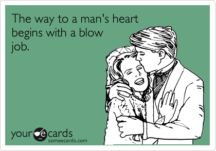 The way to a man's heart