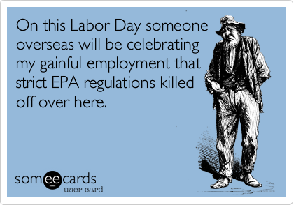 On this Labor Day someone