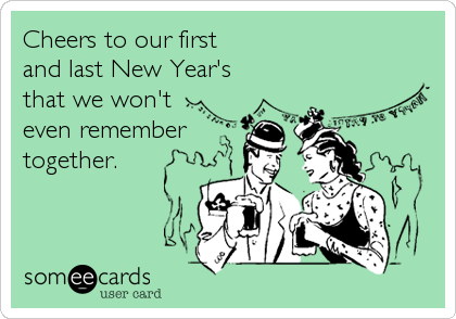 Cheers to our first 