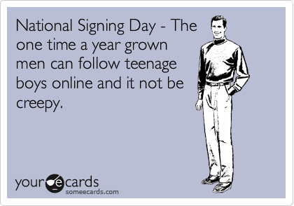 National Signing Day - The