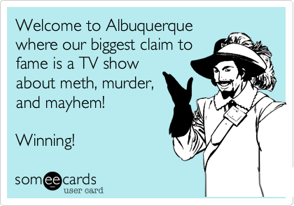 Welcome to Albuquerque