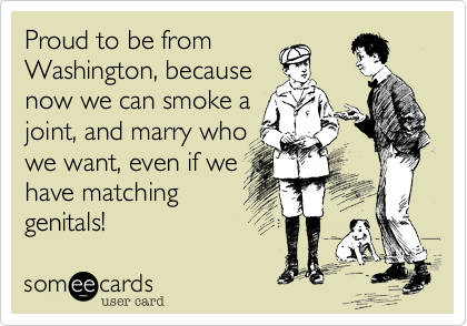 Proud to be from