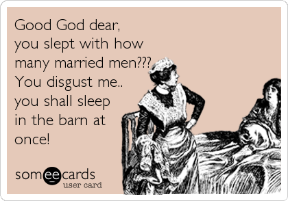 Good God dear, 