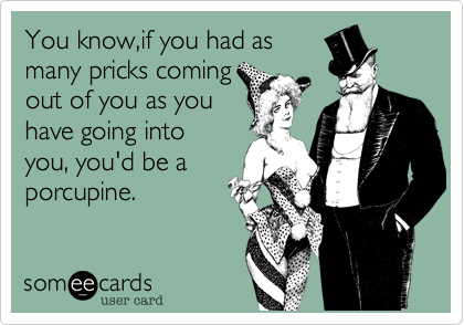 You know,if you had as