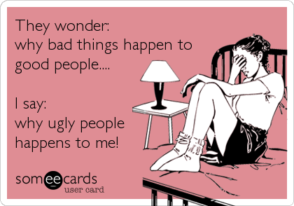 They wonder: