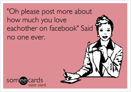 """Oh please post more about