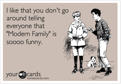 I like that you don't go