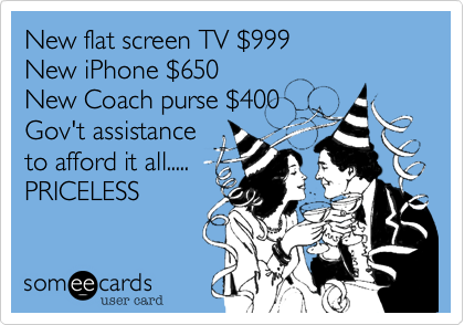 New flat screen TV %24999