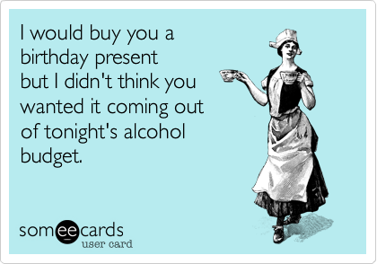 I would buy you a