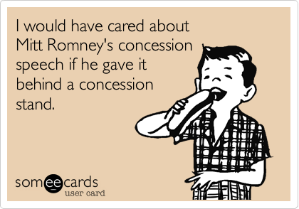 I would have cared about 