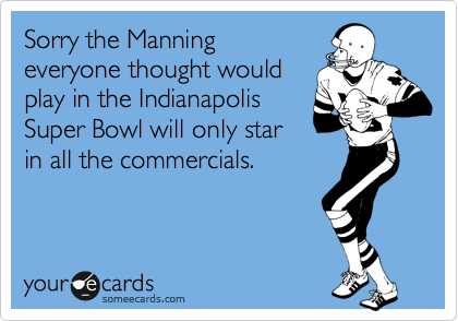 Sorry the Manning